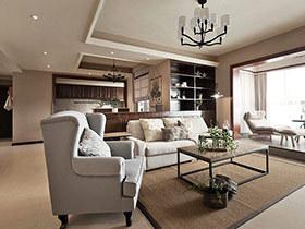 152平美式风格家居装修 清新复古森活家