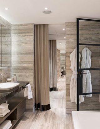 木质浴室造型图片
