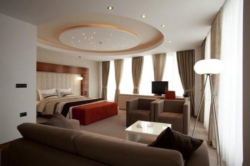 卧室吊顶装修效果图 美轮美奂的主卧室吊顶装修