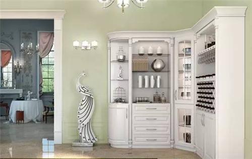 【西安盛腾美巢家装】酒柜样式效果图 享受精致典雅生活