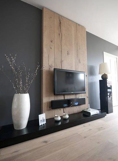 木质背景墙设计布置图