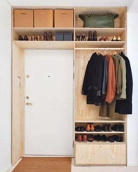 小户型装修玄关柜设计