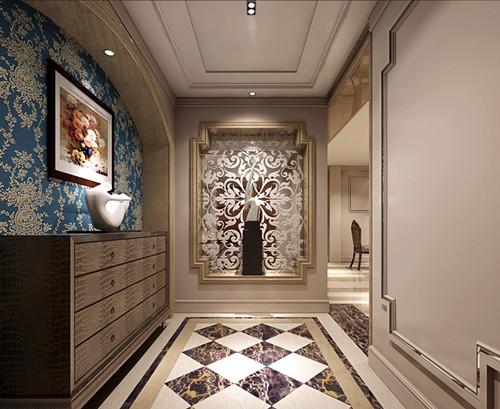 门厅装修效果图 4款超炫门厅装修设计