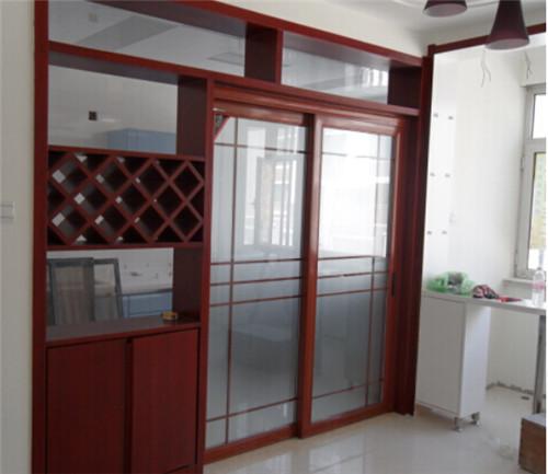 厨房移门效果图 几款简约时尚厨房移门