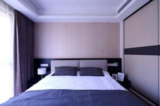 115平简约三居卧室效果图设计