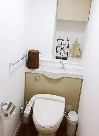 小空间卫生间摆放图