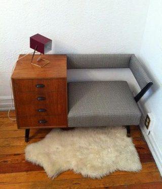 玄关小沙发一体化图片