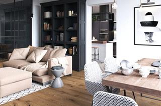 111平二居室装修布艺沙发图片