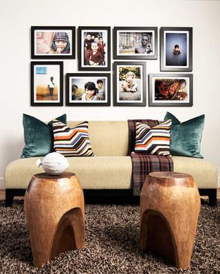 客厅照片墙背景墙装修