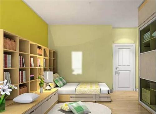 卧室书房一体装修效果图 卧室书房设计让读书成为习惯