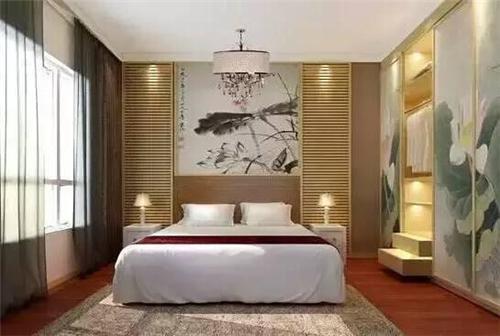 新中式卧室装修如何设计?新中式卧室装修效果图