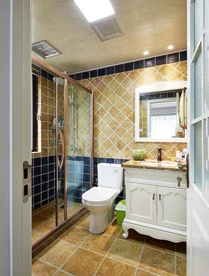 简约风格浴室装修装饰效果图