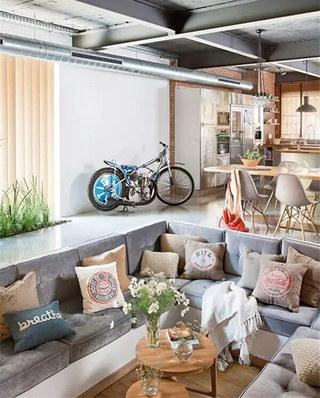 下沉式装修别墅客厅图片