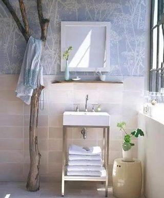 卫生间旧物改造图片