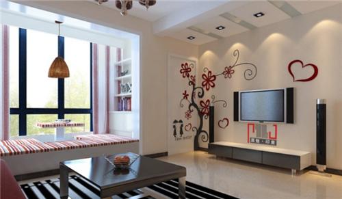小户型客厅装修图 10平米现代客厅装修案例