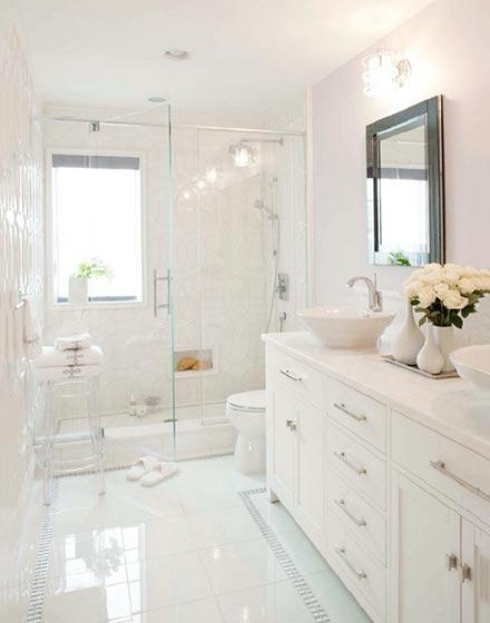 简约浴室布置效果图