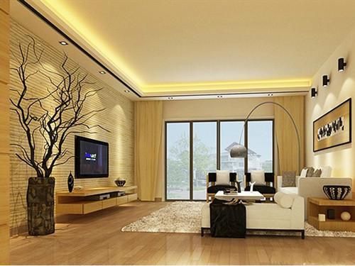 三万元装修房子效果图 打造55平米温馨之家