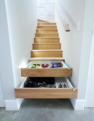 到底能装多少呢  10个楼梯间收纳设计图片2/10