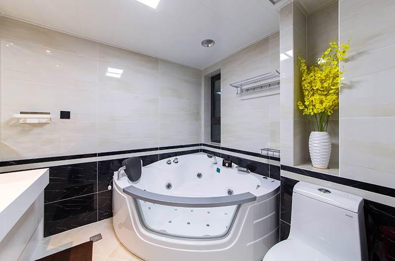 130平简约三房装修卫生间装修
