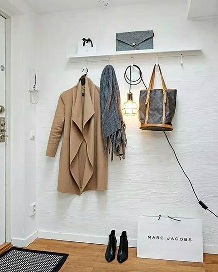 小户型玄关设计衣帽间装饰