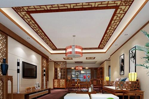 中式客厅装修效果图 纯中式客厅装修不将就