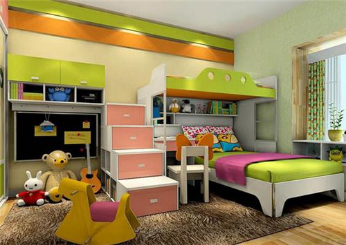 5平米儿童房装修效果图 2017儿童房创意设计