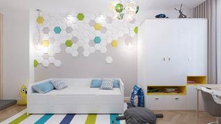 北欧风格三房二厅装修图 和孩子一起设计10/14