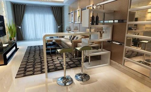 客厅吧台装修效果图 客厅吧台带来不一样的生活情调