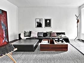 72平单身公寓装修 独身主义者的精致家