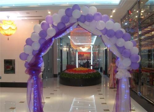 婚礼气球拱门