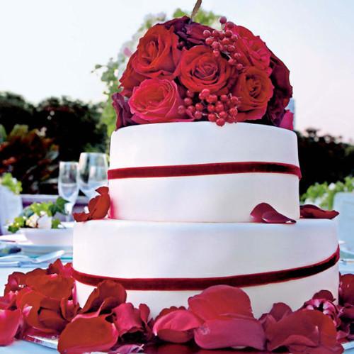 红色婚礼布置现场图片大全 红色婚礼现场布置