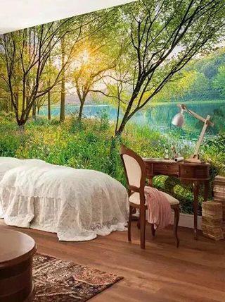 卧室壁纸设计欣赏图