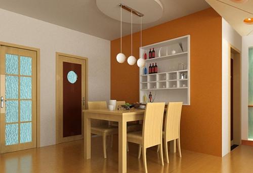 家庭餐厅装修效果图 打造清新时尚的家庭餐厅