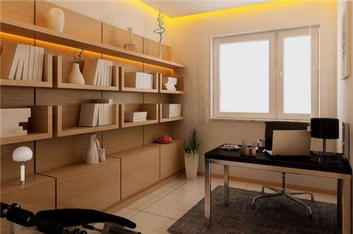 现代简约书房装修效果图 几款现代简约书房设计