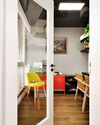 220平小复式装修书房门图片