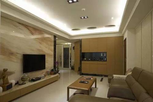 电视背景墙瓷砖装修效果图大全欣赏