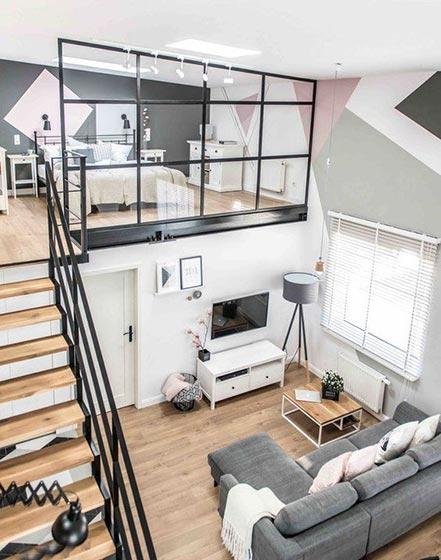 loft风公寓设计实景图