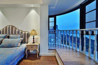 卧室飘窗布置摆放图