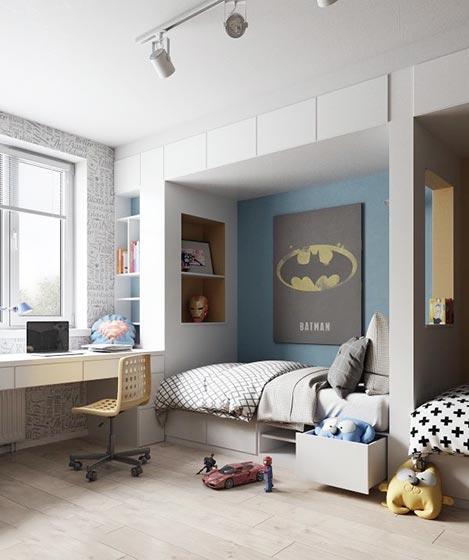 现代风格儿童房创意图片