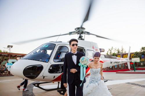 直升机婚礼怎么定制 租一架直升机多少钱