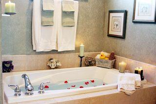浴室布置欣赏图片