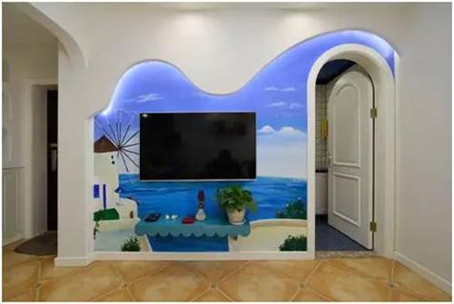 创意电视背景墙效果图 创意电视墙设计令人过目不忘
