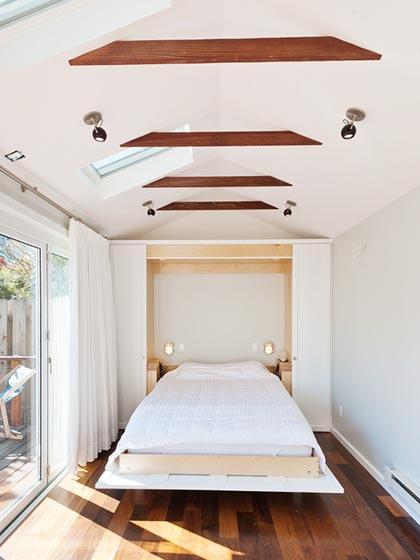 卧室床装修装饰效果图