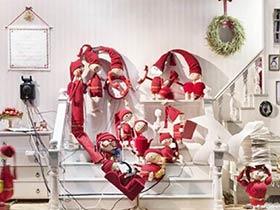 圣诞橱窗装修设计效果图
