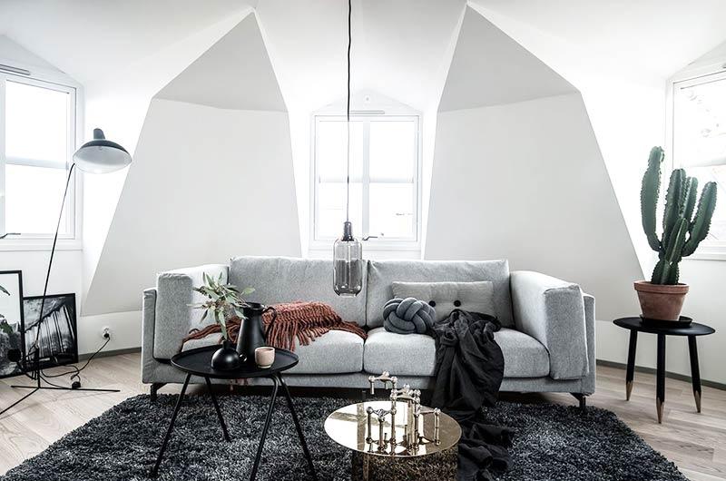 35平北欧风格小户型单身公寓装修