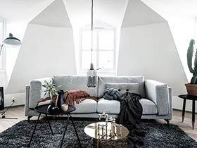 35平北欧风格单身公寓装修 清爽舒适小空间