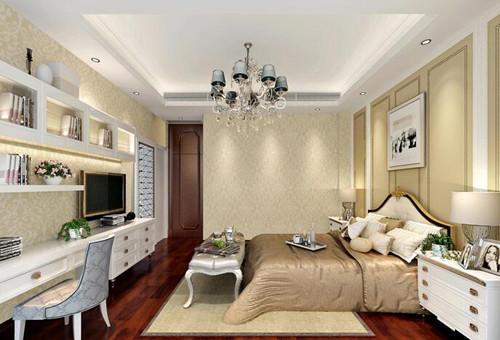 小户型美式装修效果图 65平米小户型美式休闲风格高清图片
