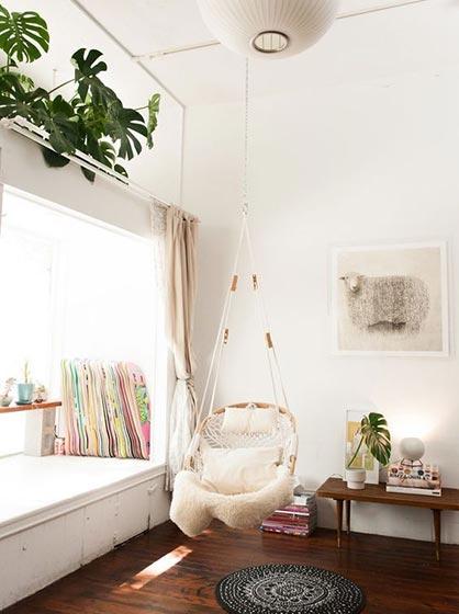 卧室吊椅设计构造图