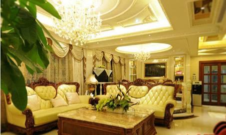 简欧客厅装修效果图 轻奢简欧客厅如何装修图片