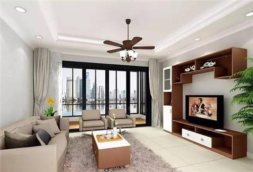 客厅装潢设计效果图 简单干净的客厅设计高清图片